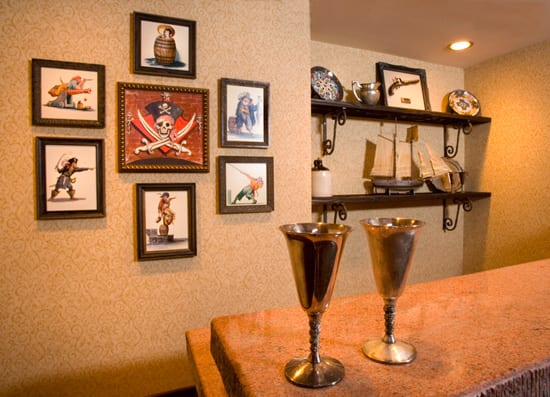 Pirates of the Caribbean Suite at Disneyland Hotel
