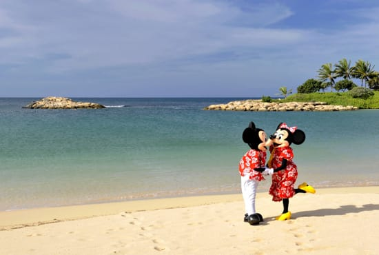 Romance in Paradise at Aulani, a Disney Resort and Spa