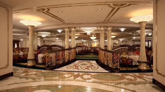 Disney Dream Royal Palace Restaurant Artist Rendering