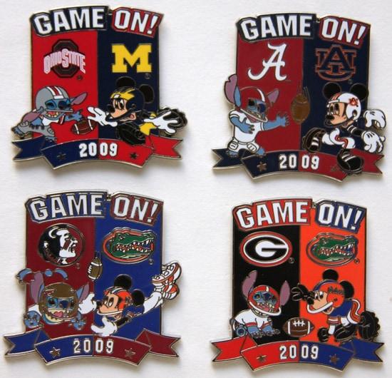 2009 'Game On' Pin Series