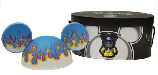 Flame Vinylmation Ear Hats