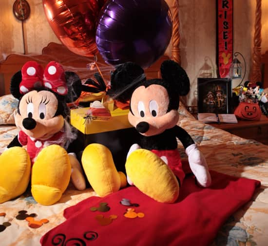 Halloween In-Room Celebrations at Disney Parks