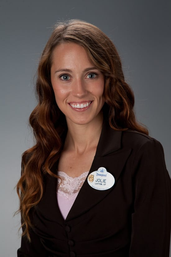 Jolie Hales of the 2011-2012 Disneyland Resort Ambassador Team