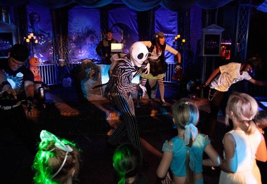 Club Skellington at Mickey's Halloween Party