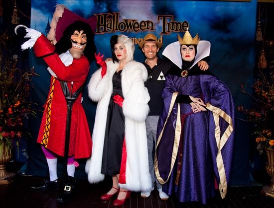 Matthew Morrison Visits Disneyland Resort