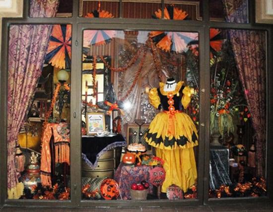 Halloween Decor at Tower Hotel Gifts at Disneyland Resort