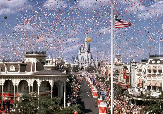 Opening Day at Walt Disney World Resort