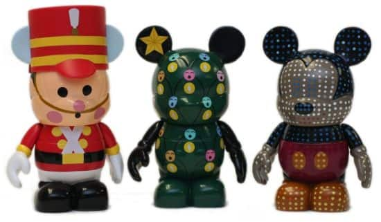 Vinylmation Figures that Feature Festive Designs for Celebrations like Holidays Around the World at Epcot