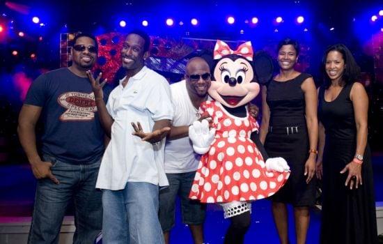 Boyz II Men with Minnie