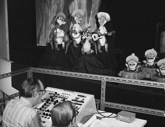 Walt Disney Imagineers Working on a Disneyland Park Attraction