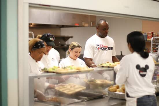 Disney VoluntEARS Serve Meals at the Coalition for the Homeless of Central Florida