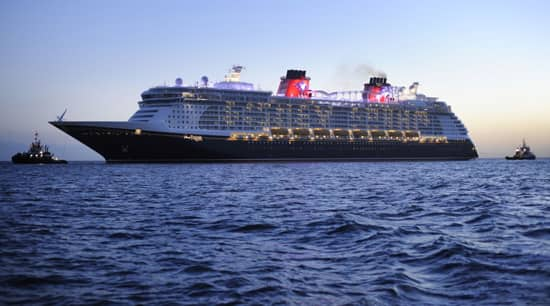 Disney Dream Sets Sail