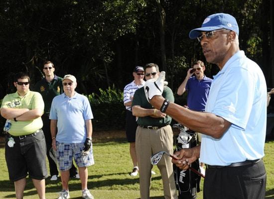 NBA Legend Julius 'Dr.J' Erving at Disney's PGA Tour Event