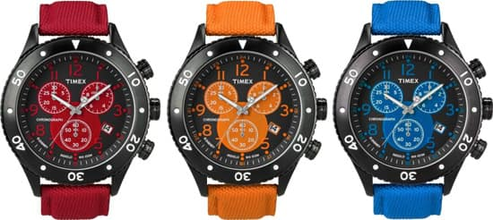 T-Series Chronograph Watches of the 'Timex for Disney' Collection