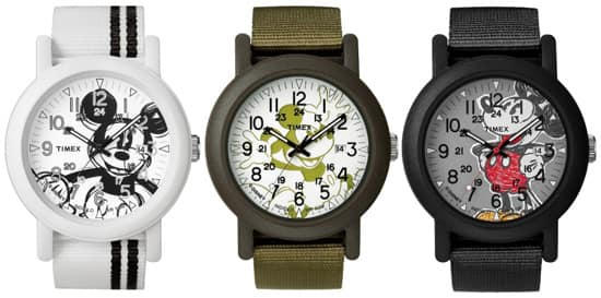 Modern Original Camper Watches of the 'Timex for Disney' Collection