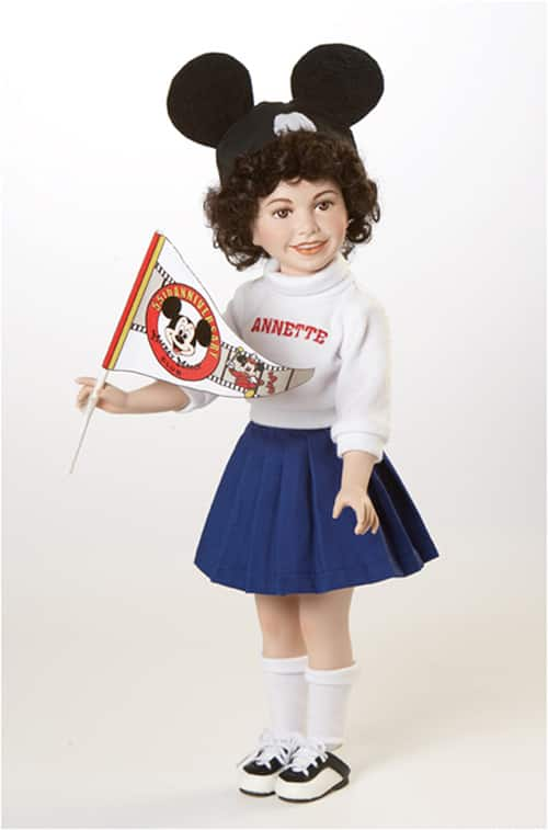 Mickey Mouse Club 55th Anniversary-themed Doll