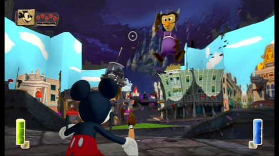 'Mean Street' in Epic Mickey Game