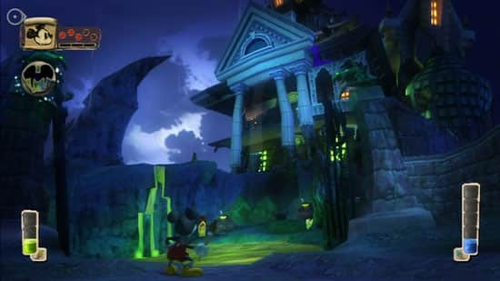 'Lonesome Manor' in Epic Mickey Game