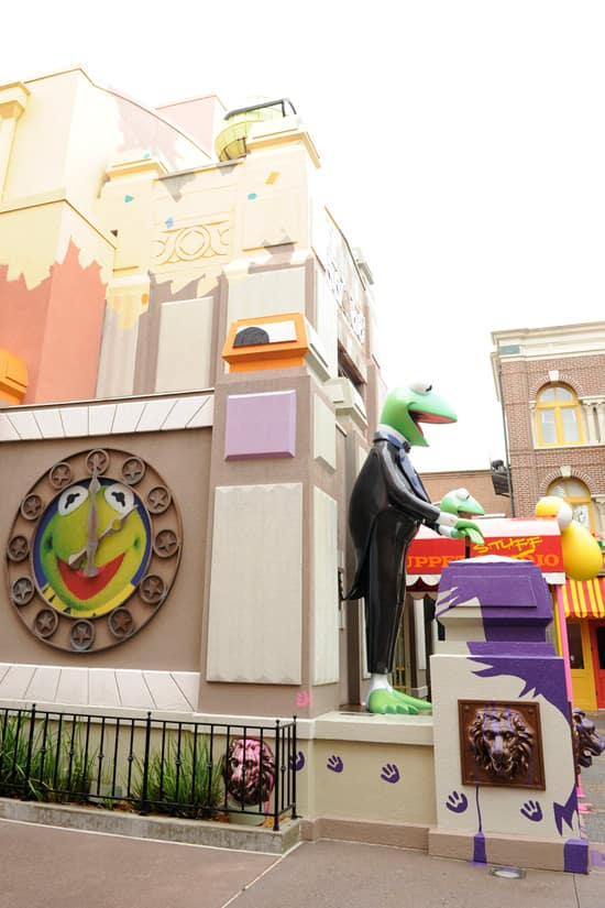 Kermit the Frog Statue at Disney's Hollywood Studios