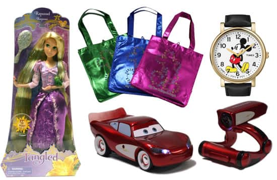Tangled, Lightning McQueen and More Holiday Gift Ideas from Disney Theme Park Merchandise