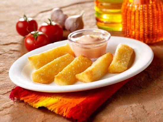 Yuca Fries at Pollo Campero