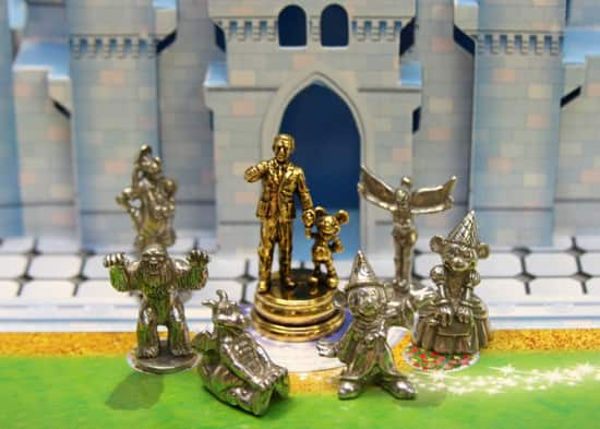 Game Pieces for Monopoly – Disney Theme Park Edition