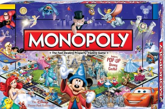 Monopoly – Disney Theme Park Edition