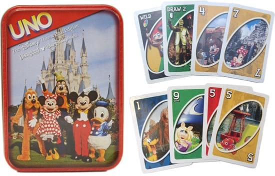 Uno – Disney Theme Park Edition