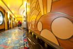 Elegantly Decorated Public Areas Aboard the Disney Dream