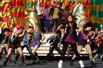 Debby Ryan at the Taping of 'Disney Parks Christmas Day Parade' at Magic Kingdom