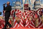 Darius Rucker at the Taping of 'Disney Parks Christmas Day Parade' at Magic Kingdom