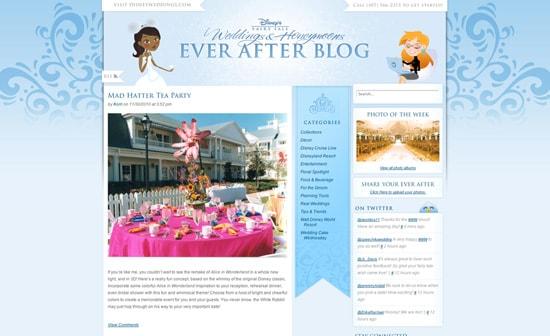 Disney's Fairy Tale Weddings & Honeymoons Ever After Blog