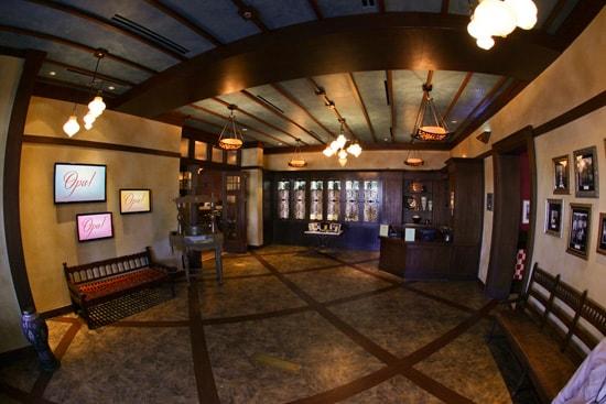 Lobby of Kouzzina by Cat Cora at Disney's BoardWalk