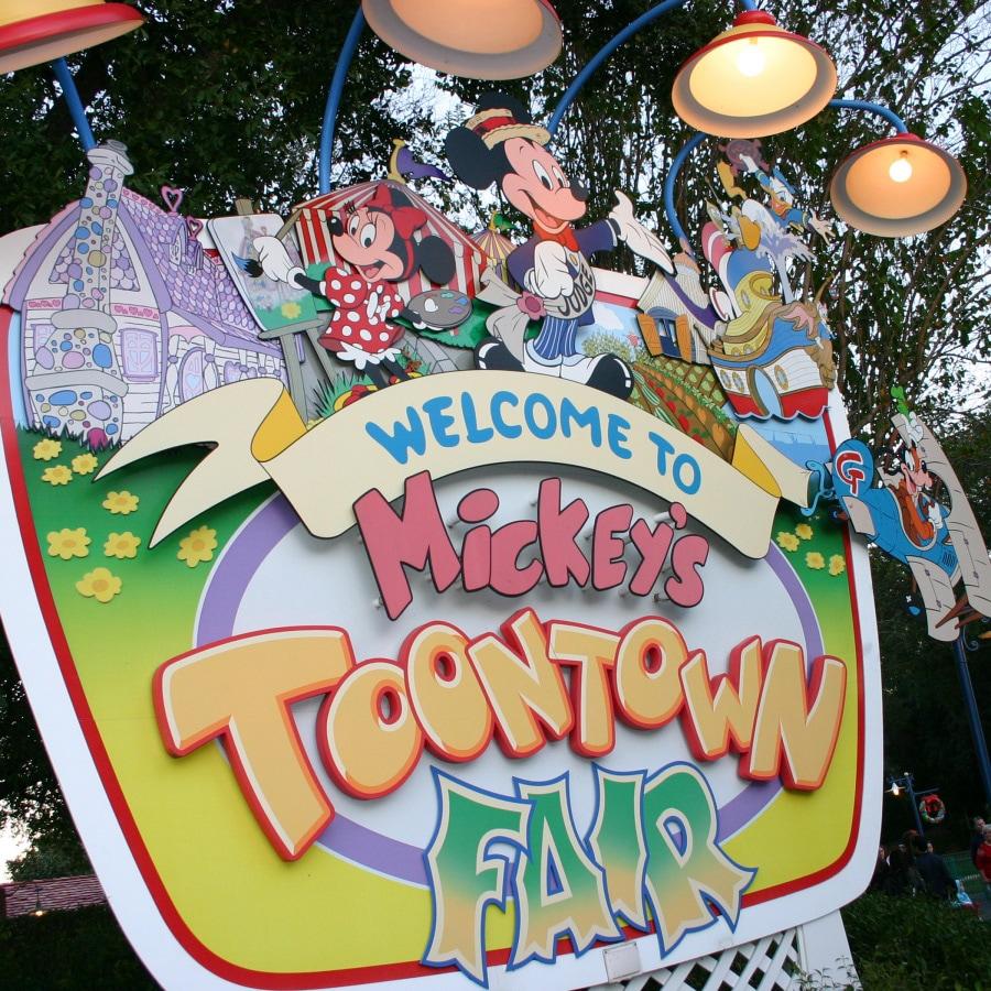 Image result for disney toontown fair