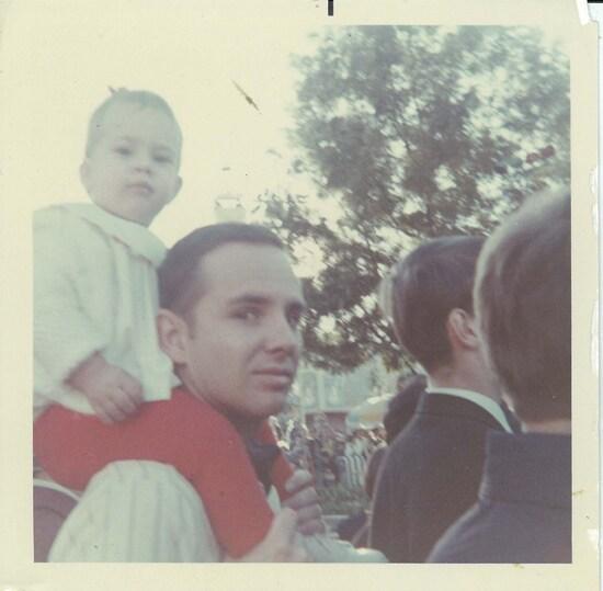 Brien Manning and Erin Manning Disney Parade 1968
