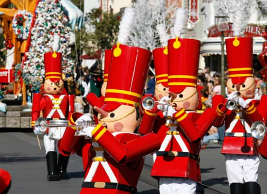 """A Christmas Fantasy"" Parade at Disneyland Park"