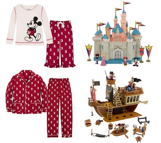 Mickey Mouse Pajamas and Disney Toys