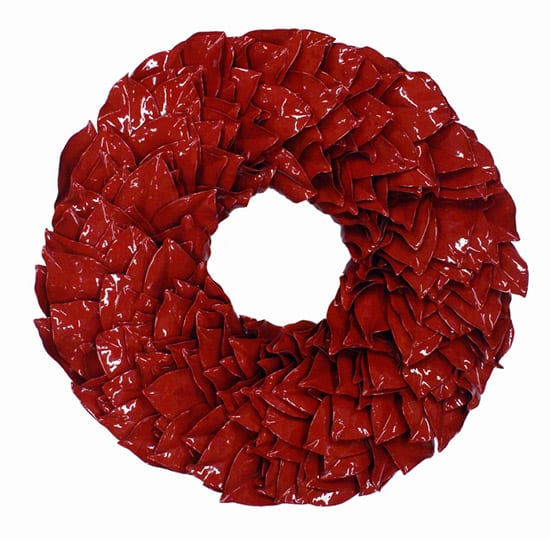Red Lacquered Wreath