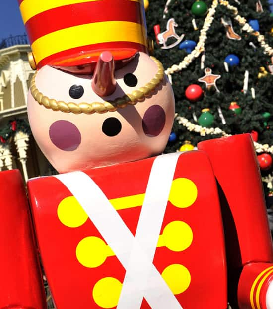 Toy Solider in Town Square at Walt Disney World