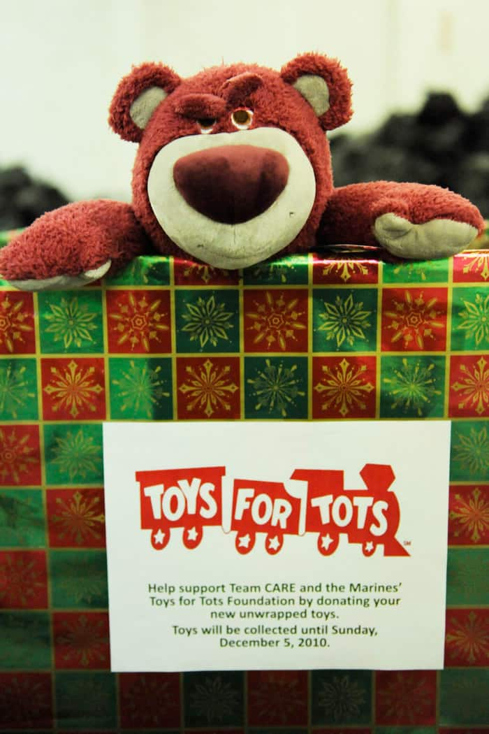 Toys For Tots Ideas : Toys for tots donation box ideas wow
