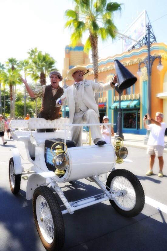 Shelby Mayor and Ready Freddy Fiddlesticks at Disney's Hollywood Studios