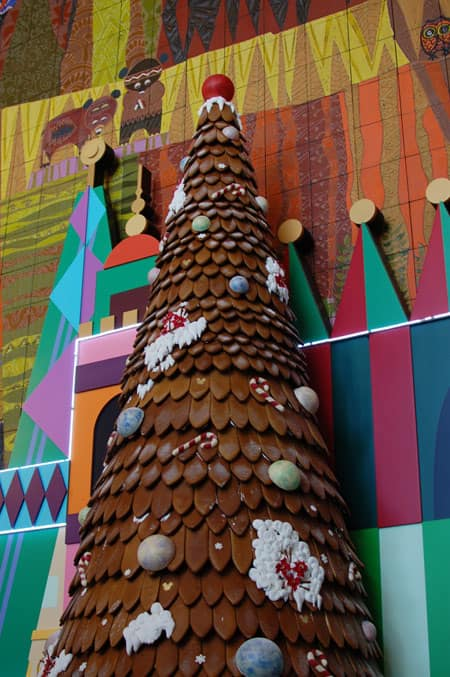 This Gingerbread Tree is Disney's Tallest Edible Display