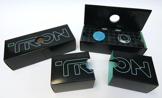 'TRON: Legacy' Boxed Pin Set Coming to the 2011 Sci-Fi Academy Event