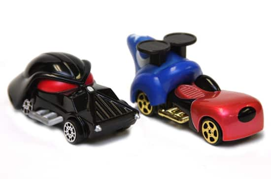 Darth Vader and Sorcerer Mickey Disney Racers