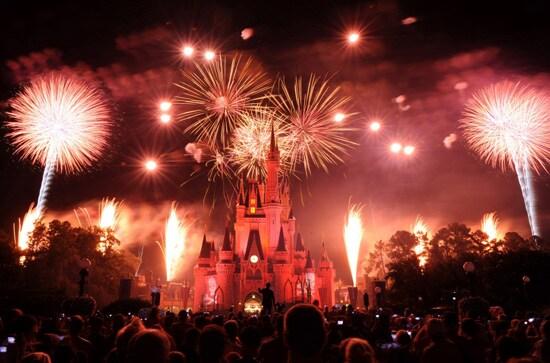 Happy New Year from Walt Disney World