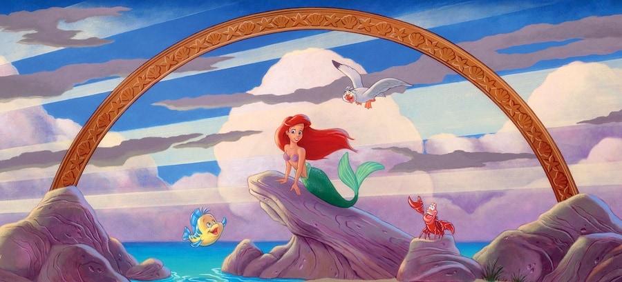 little mermaid castle subliminal message