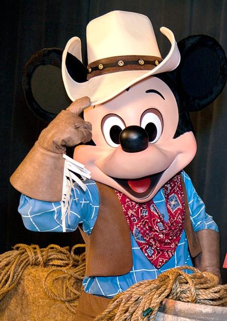 Cowboy Mickey