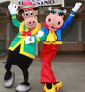 Clarabelle Cow and Horace Horsecollar
