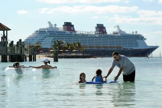 Disney Dream guests enjoyed fun in the sun at Castaway Cay