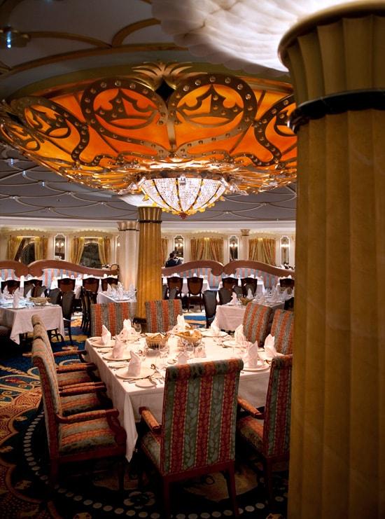 The Dining Room at Royal Palace Restaurant